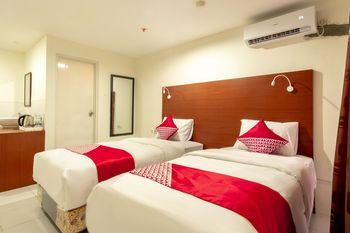 OYO Flagship 1481 Apartemen Sentraland Medan Medan - Deluxe Twin Room Regular Plan