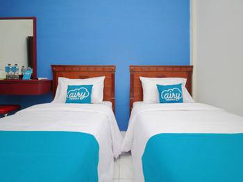 Airy Medan Sunggal Binjai KM 6.7 - Deluxe Twin Room Only Special Promo Jan 28