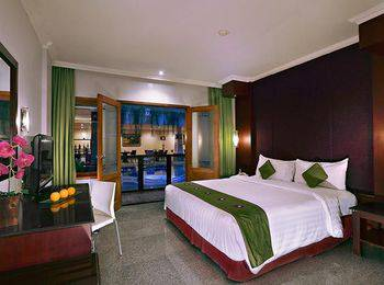 Permata Kuta Hotel Bali - Deluxe Room Free Airport Transfer One Way Basic Deal Promotion