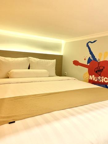 Front One Cabin Sunter Jakarta - First Class Down Double Bed Regular Plan