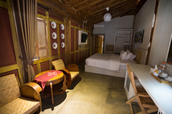 Kampung Lawasan Heritage Cottage Yogyakarta - Deluxe Double room Regular Plan