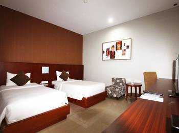 Grand Hatika Hotel Belitung - Kamar Superior Twin (tanpa jendela) Regular Plan