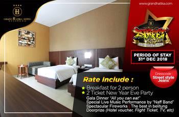 Grand Hatika Hotel Belitung - Grand Superior Twin Regular Plan