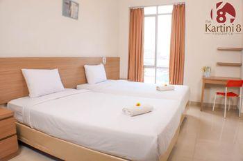 The Kartini 8 Residence Mangga Besar Jakarta - Deluxe Twin Room minimum stay 2 nite