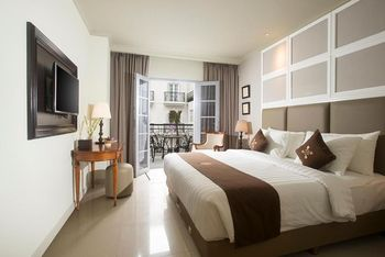 Hotel Indies Heritage Prawirotaman - Deluxe King Balcony Room Only Special Deals