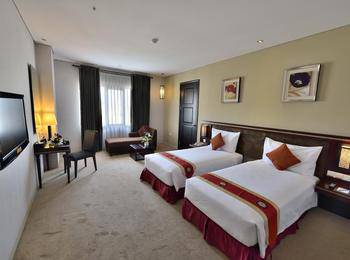 Gino Feruci Kebon Jati by KAGUM Hotels Kebon Jati - Deluxe Twin Room Only Regular Plan