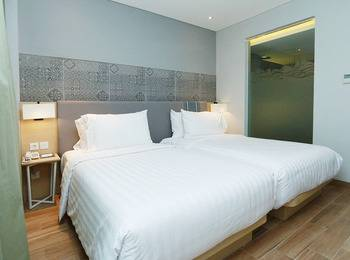Santika Premiere Beach Resort Belitung Belitung - Deluxe Twin Room Special Promo Last Minute Deal