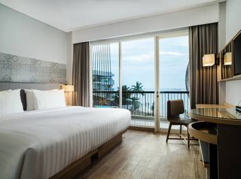 Santika Premiere Beach Resort Belitung Belitung - Deluxe Double Room Offer  Last Minute Deal 2021