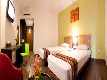 Hotel Grand Anugerah Bandar Lampung - Deluxe Twin Bed Room Regular Plan