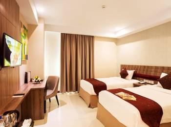 Tara Hotel Yogyakarta Yogyakarta - Deluxe Twin Bed Room Only Regular Plan