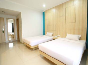 Dewanti Hotel Cirebon - Deluxe Twin Room Regular Plan