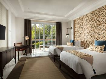 Plataran Heritage Borobudur Hotel Magelang - Deluxe Double or Twin Regular Plan