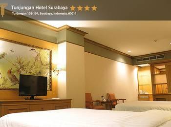 Hotel Tunjungan Surabaya - Deluxe Twin Over Stay DSuite
