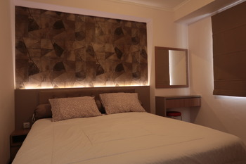 Apartement Gateway Pasteur 2 Bed by Mike Living Bandung - Two Bed Room  Regular Plan