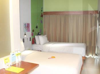 MaxOne Hotel Sabang - Max Happiness Twinbed Room Only   Regular Plan