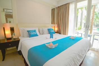 Airy Kuta Majapahit 18 Bali Bali - Deluxe Double Room Only Special Promo May 5