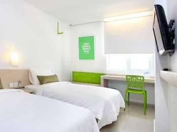 Zuri Express Palembang - Express Twin Room Only Regular Plan