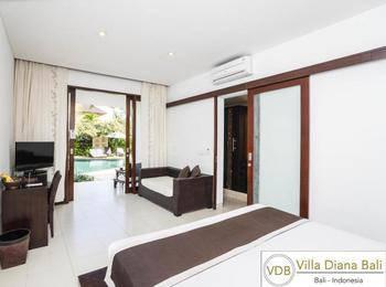 Villa Diana Bali - 2 BedRoom Villa Regular Plan