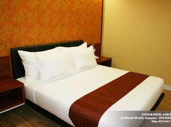 Citihub Hotel Jogja - Diamond King Room Only Regular Plan