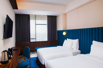 Bono Hotel Pekanbaru Pekanbaru - Deluxe Twin Room Only Regular Plan