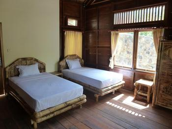 Magic Valley Guest House Lombok - Deluxe Twin Room with Terrace Regular Plan
