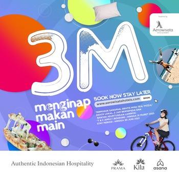 Kila Senggigi Beach Hotel Lombok - Promo 3M Promo 3M Special Promotion