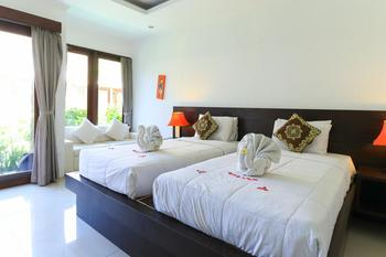 The Light Bali Villas Bali - One Bedroom Pool View Twin Bedroom Room Only - FC 2 Days Stay Longer Promotion