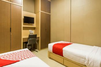 OYO 279 Deli Homestay Medan - Standard Twin Room Regular Plan