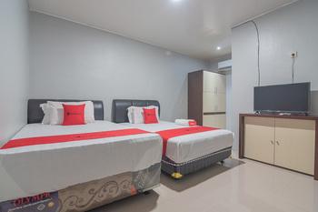 RedDoorz Syariah @ Jalan Tjilik Riwut Palangka Raya - RedDoorz Twin Room Basic Deals