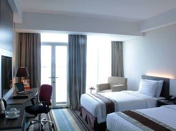 Swiss-Belhotel Makassar - Deluxe City View Regular Plan