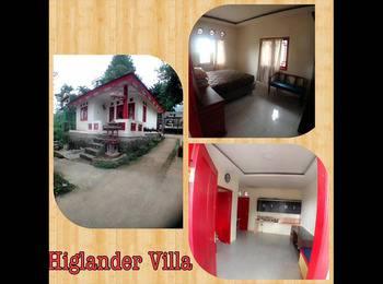 Resort Highlander Bogor - Villa Kolam Regular Plan
