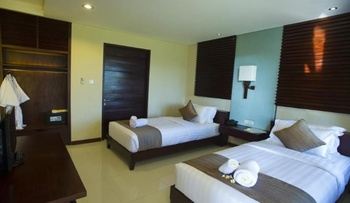 D'djabu Hotel Seminyak Bali - Deluxe Twin Room Only Basic Deal