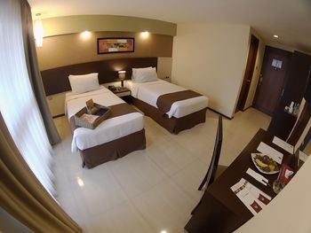 The Naripan Hotel by KAGUM Hotels Bandung - Deluxe Twin Room Only KAGUM Hotels Safe Stay Deals