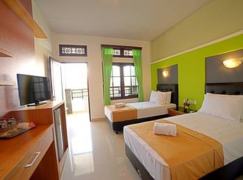 Sandat Hotel Kuta - Deluxe Room with breakfast Last Minutes 50%