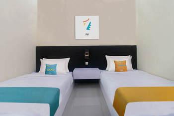 Sans Hotel Borobudur Banyuwangi Banyuwangi - Superior Twin Room AntiBoros