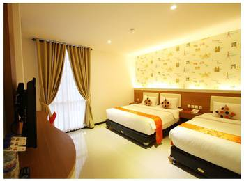 Tab Hotel Surabaya - Standard Twin Room Room Only - Special Deals Regular Plan