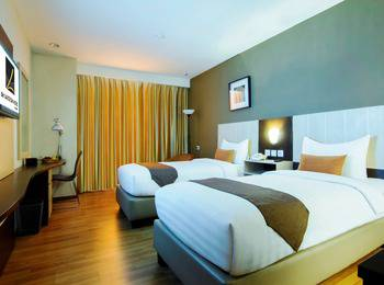 de Laxston Hotel  Yogyakarta - Deluxe Twin Room Only Regular Plan