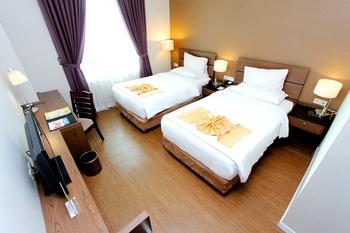 Forbis Hotel Cilegon Banten - Deluxe Twin Room Only Regular Plan