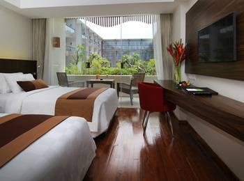 The Bene Hotel Bali - Deluxe Twin Room Last Minutes Deal