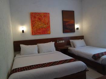 Cempaka Guest House Borobudur - Deluxe Triple Regular Plan