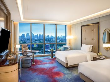InterContinental Jakarta Pondok Indah Jakarta - Kamar Klasik, 2 Tempat Tidur Twin Regular Plan