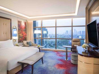 InterContinental Jakarta Pondok Indah Jakarta - Kamar Deluks, 1 Tempat Tidur King Regular Plan