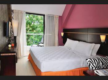 Santa Grand Hotel Bugis Singapore - Superior Double or Twin Room, Non Smoking Diskon 25%