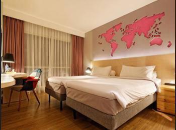 ibis Styles Jakarta Airport - Kamar Superior, 2 Tempat Tidur Twin Regular Plan