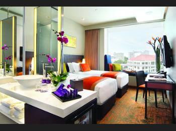 Park Regis Singapore - Twin Room, 2 Twin Beds