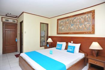 Airy Denpasar Utara HOS Cokroaminoto 63 Bali - Economy Transt 6 jam Double Room Only Special Promo July 28.