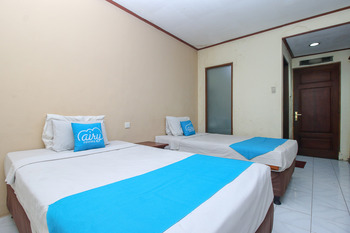 Airy Denpasar Utara HOS Cokroaminoto 63 Bali - Economy Full Stay Twin Room Only Regular Plan