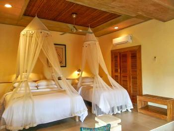 Tegal Sari Accomodation Bali - Double orTwin Room Balcony Super Deluxe Beds Room Only for 2 Basic Deal