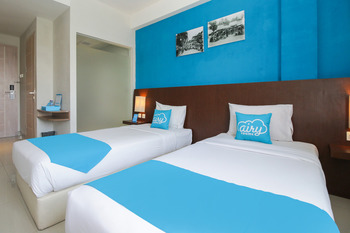 Airy Denpasar Barat Gunung Salak 78 Bali Bali - Deluxe Twin Room with Breakfast Special Promo Nov 42