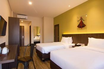 Arkeo Hotel Bandung Bandung - Family Twin Room Regular Plan